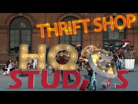 Macklemore's 'Thriftshop' by HighQualityGifs Studio