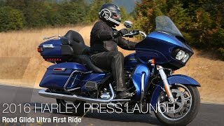 4. 2016 Harley-Davidson Road Glide Ultra First Ride - MotoUSA