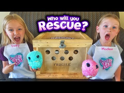 Rescued Crate Creatures! We Found Them Scruffy And MakeThem Fluffy! Scruff A Luvs Toy Unboxing!