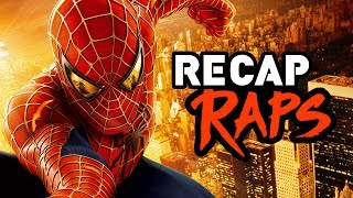 In time for Spiderman Homecoming, here's the epic Spider-Man Trilogy retold via Recap Rap!Marvel's Captain America Civil War Recap Rap! ► http://bit.ly/2scz6qESUBSCRIBE! ► http://bit.ly/Sub2TWZRecap Raps - Spiderman Trilogy in 4 MinutesBefore you go see Tom Holland as everybody's favorite web slinging superhero in the Spider-Man Homecoming movie, let us take you back to before even Andrew Garfield, to when Sam Raimi and his Peter Parker counterpart, Tobey Maguire, helmed the spidey franchise together in the original Spiderman trilogy. We'll take you back through the Spiderman movies that started it all, with characters like mary jane, harry osbourne, green goblin, doc oc, venom, sandman, and more.Recap Raps is a music comedy series where we summarize your favorite pop culture movies and tv shows into a funny short and delectable rap song!Written by Ryan Tellez and Brian Fisherhttp://instagr.am/tellezryanhttp://instagr.am/lifeofbrianfisherPerformed by Ryan TellezChorus sung by Brian FisherMusic Produced by Peter De LeonEdited by Chance ColeVFX Titles by Robert HoltbyProduced by Brian Fisher- The Warp Zone -Subscribe! http://youtube.com/TheWarpZoneLike us on Facebook! http://facebook.com/TheWarpZoneFollow us on Twitter! http://twitter.com/WarpZoneTweetsFollow us on Instagram! http://instagr.am/WarpZoneGrams