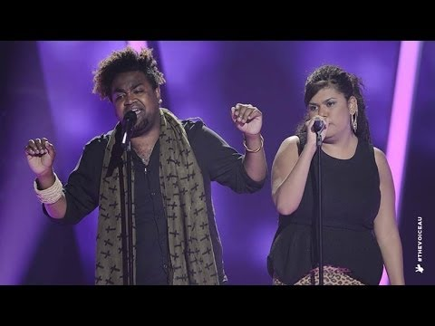 ZK Sings As Long As You Love Me | The Voice Australia 2014