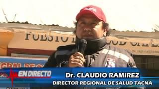 La Dirección Regional de Salud Tacna y la Municipalidad Distrital de Pachia, realizaron una exitosa campaña de salud y ayuda a...
