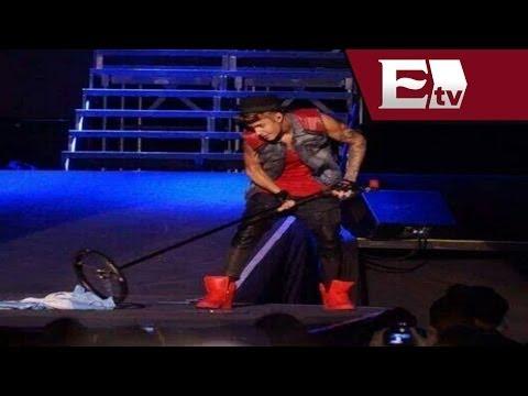 Justin Bieber pide disculpas por utilizar bandera de Argentina como escoba /Joanna Vegabiestro