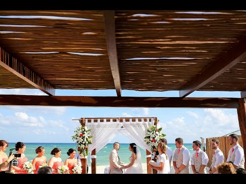 PLAYA DEL CARMEN WEDDING VIDEOGRAPHY   ISABELLE & ERIC   HIGHLIGHTS   GRAND SUNSET PRINCESS