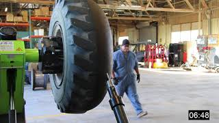 Video Foam tire Removal Process MP3, 3GP, MP4, WEBM, AVI, FLV Februari 2019