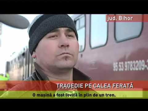 Accident tragic pe calea ferată