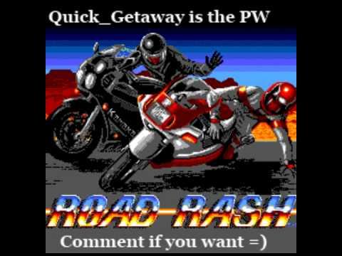 road rash game gear codes