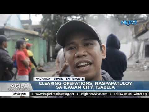 Clearing Operations, nagpapatuloy sa Ilagan City, Isabela