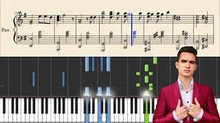 Panic! At The Disco - Nine In The Afternoon - Piano Tutorial + Sheets