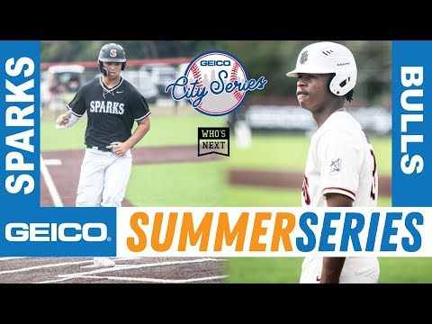 2020 GEICO Baseball City Series Championship Game -- Bulls (IN) vs. Sparks (IL)