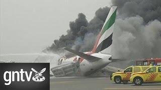 Emirates plane makes emergency landing at Dubai airport, all passengers safe