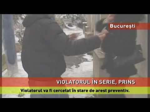 Violatorul în serie din București, prins în flagrant