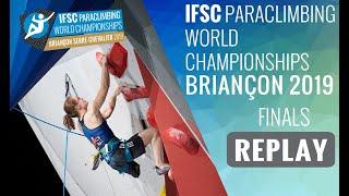 IFSC Climbing World Championships - Briançon 2019 - Paraclimbing Finals #2 by International Federation of Sport Climbing
