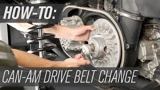 7. How To Change The Drive Belt On A Can-Am Maverick X3