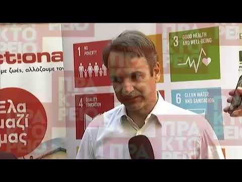 Κ. Μητσοτάκης: Βιώσιμη ανάπτυξη είναι μια πολιτική που μας αφορά όλους
