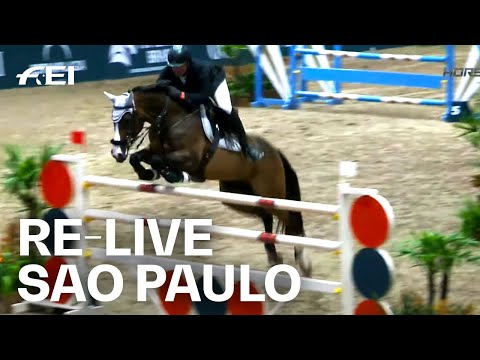 RE-LIVE | Round 1 | São Paulo (BRA) | FEI Jumping World Cup™