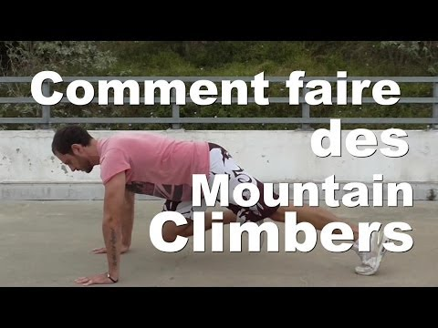 Comment faire des Mountain Climber: exercice de gainage - Tutoriel (видео)