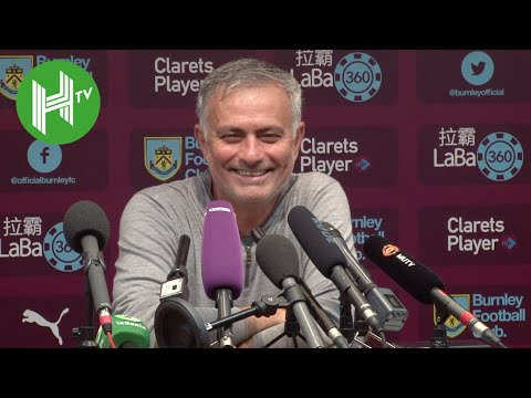 Jose Mourinho all smiles as Manchester United return to winning ways - Burnley 0-2 Manchester United (видео)