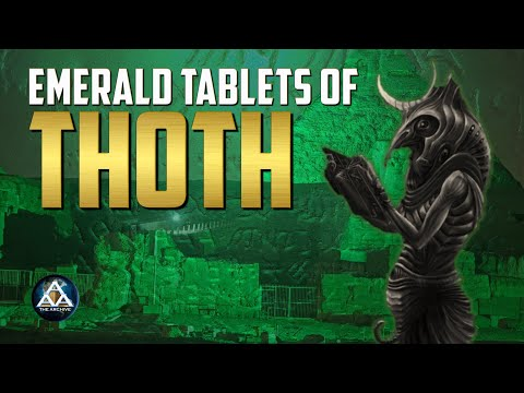 The Emerald Tablets of Thoth | Hidden Human History