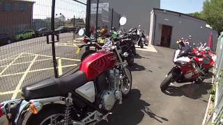 6. 2013 Honda CB1100 ABS from Via-Moto Honda Chesterfield 01246 488 722