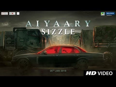Aiyaary Sizzle | Neeraj Pandey | Sidharth Malhotra | Manoj Bajpayee | Releases 16th February 2018