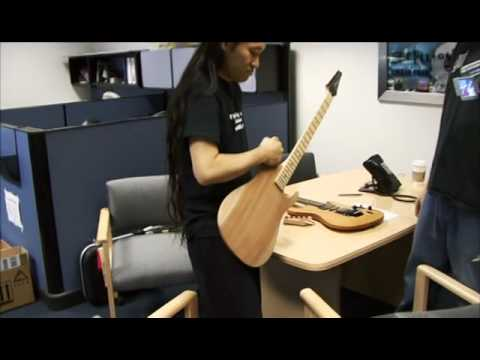 ibanez - Behind the scenes look into the design and building process of Herman Li's signature guitar, the Ibanez E-Gen. More info at: http://hermanli.com and http://i...