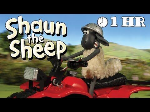 Shaun the Sheep - Season 1 - Episode 21 - 30  [1HOUR] (видео)