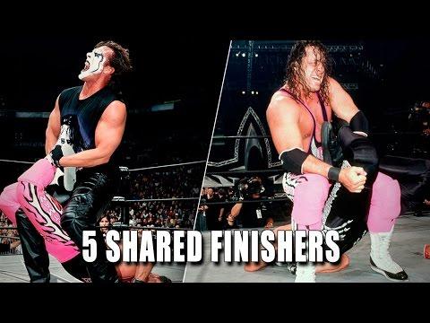 5 finishers WWE Superstars shared
