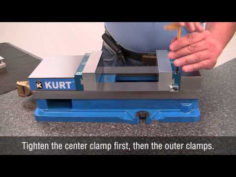 Kurt DoveLock Quick-Change Jaw System: Setup and Jaw Changeover