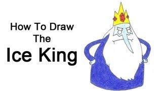 Видео: как нарисовать Ледяного короля