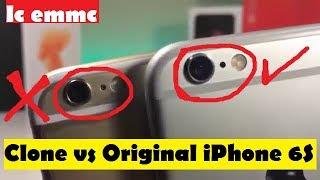 iPhone 6s - Original iPhone 6s vs Clone/Fake iPhone 6s!