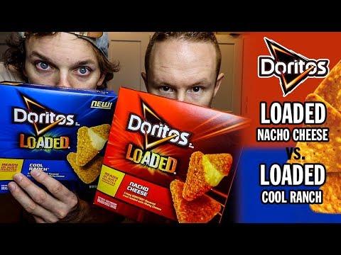 Doritos Loaded: Nacho Cheese vs. Cool Ranch