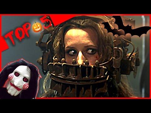 TOP 5 des pires pièges dans Saw ! Allociné - Spécial Halloween
