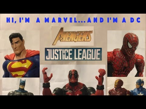 Hi, I'm a Marvel...and I'm a DC: Avengers: Infinity War and Justice League (Non-Spoiler) (видео)