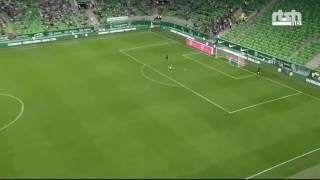 Goalkeeper Alban Hoxha Amazing Panenka Penalty Goal vs Ferencvaros (Ferencvaros 1-3 Partizani)