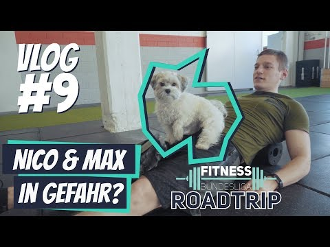 Max &  Nico in Gefahr – Roadtrip Fitness Bundesliga Vlog #9