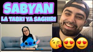 "Video Reacting to Sabyan "" LA TABKI YA SAGHIRI "" MP3, 3GP, MP4, WEBM, AVI, FLV Maret 2019"