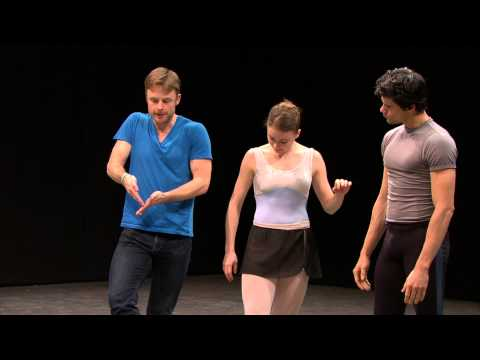 Christopher Wheeldon rehearses Aeternum