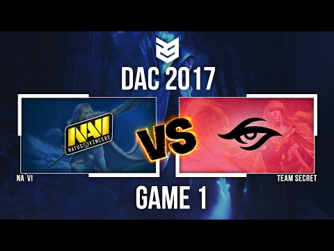 23 CreativeVN | DAC 2017 EU Quals | Navi vs Team Secret | Game 1