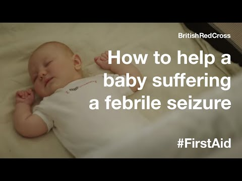How to treat a baby suffering a febrile seizure #FirstAid #PowerOfKindness