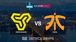 Space Soldiers vs Fnatic - ESL One Cologne 2017 - de_mirage [Enkanis , ceh9]