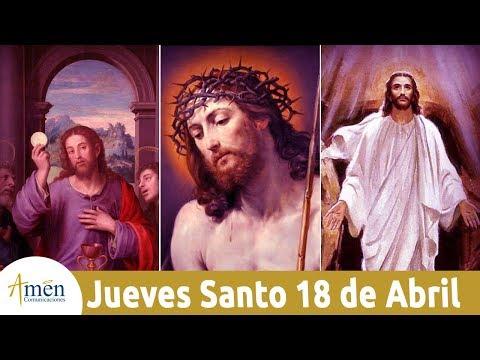 Palabras de amor - Celebración Solemne en la Cena del Señor - Jueves 18 de Abril de 2019 - Padre Mariusz Maka