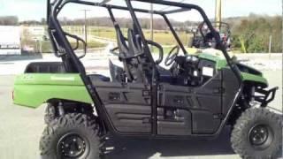 11. 2012 Kawasaki Teryx4 750 4x4 in Scout Green