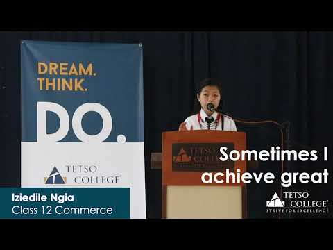 Inspirational Speech by Student of the Year 2019 (Higher Secondary)