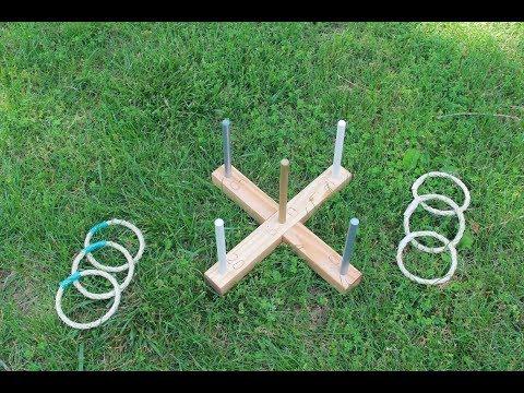 DIY Ring Toss Kit