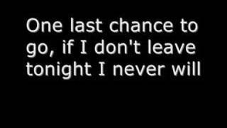 Rise Against - Last Chance Blueprint (With lyrics)