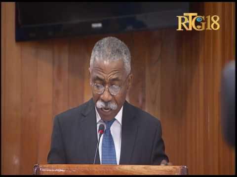 Parlement haïtien / Sénat / Séance plénière