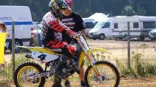 7. Ricky Carmichael on a 85cc at RCU Genk 2014 Uncut