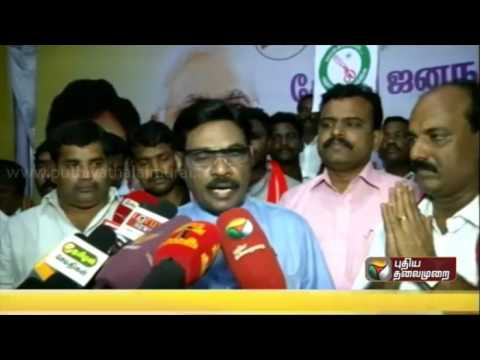 People-want-the-highly-corrupt-DMK-and-ADMK-to-be-rejected-says-IJK-founder-leader-Parivendhar