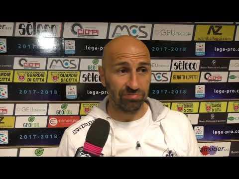 Prato-Arezzo 0-0, intervista a Pasquale Catalano
